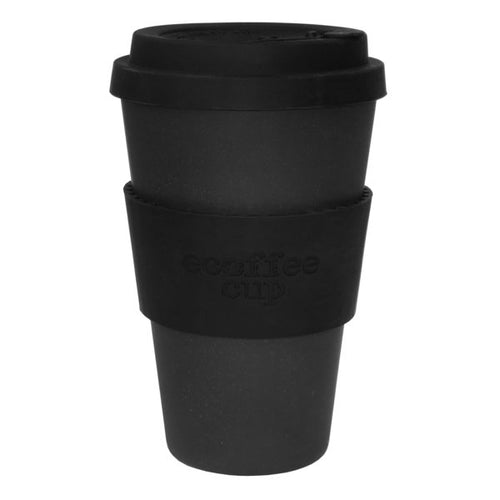 sustainable bamboo cup black