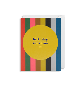 MINI CARD | birthday sunshine