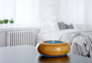 Calm your body and mind bamboo diffuser