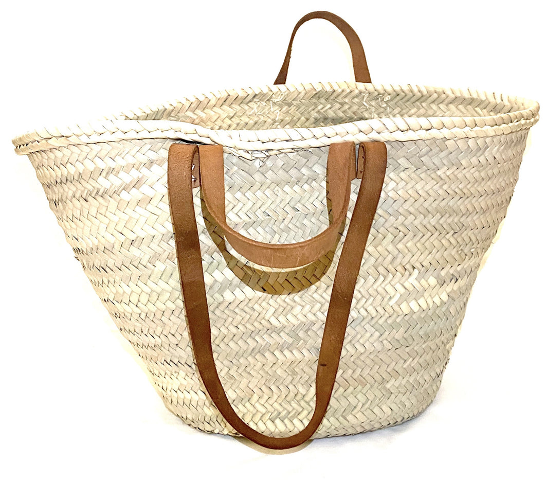 Shopper basket with double handles