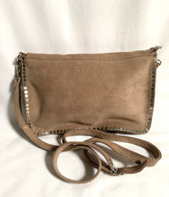 Load image into Gallery viewer, crossbody bag with silver studs