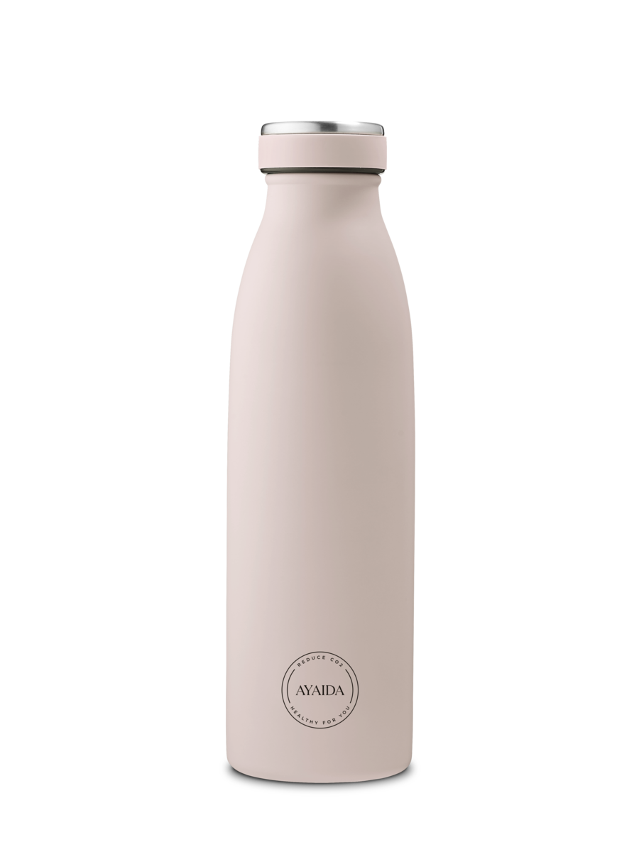 AYAIDA 500ml drinking bottle Soft rose