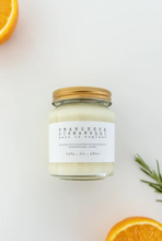 Load image into Gallery viewer, rosemary cedarwood aromatherapy soy wax candle