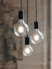 Load image into Gallery viewer, Soho loft style 3 bulb pendant light hanging