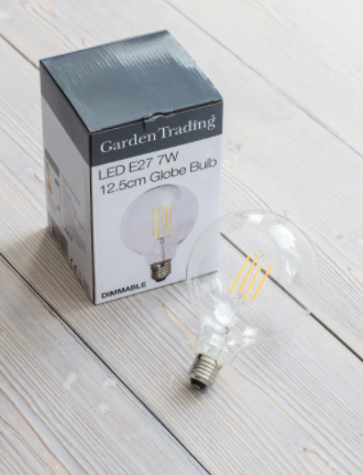 LARGE LED FILAMENT STYLE GLOBE BULB