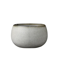 Load image into Gallery viewer, amera rustic ceramic small bowl white sand