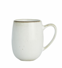 Load image into Gallery viewer, Amera White Ceramic Mug with Handle