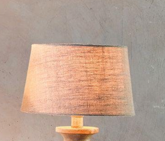 Lampshade natural jute