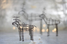 Load image into Gallery viewer, Small wire reindeer handmade
