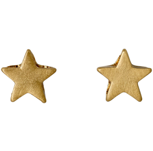 Ava gold plated mini star stud earrings pilgrim