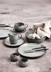 Amera grey ceramic mini bowl