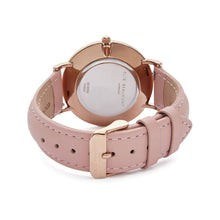 Load image into Gallery viewer, Elie Beaumont large Oxford pink watch