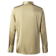 Load image into Gallery viewer, YAYA Satin stretch shirt | Macaroon