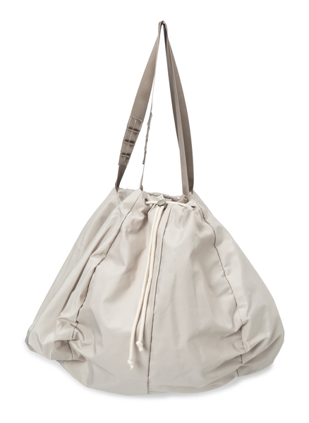 Yaya nylon shopper | White sand