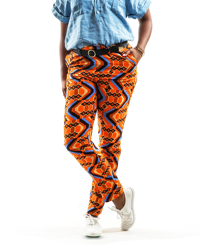 Amira - African Print - Pagne - Projet Fador