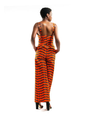 Mouna - African Print - Pagne - Projet Fador