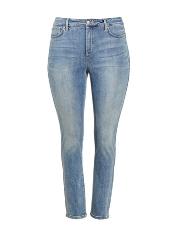 Alina Skinny Ankle Clayburn Wash Jeggings