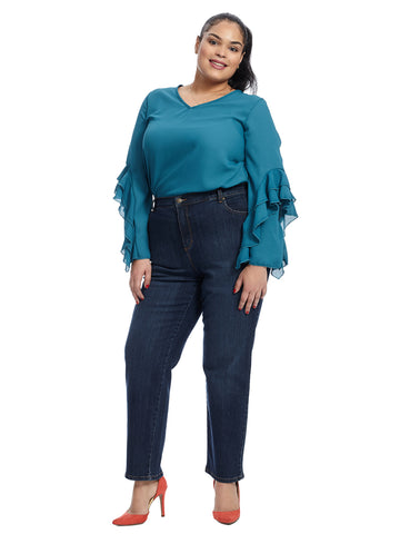 Scottsdale Regular Five Pocket Amanda Jeans
