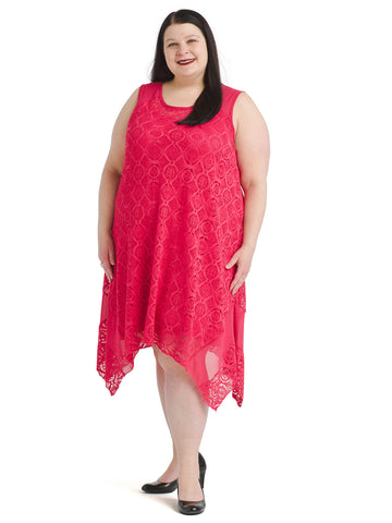 Hanky Hem Crochet Dress