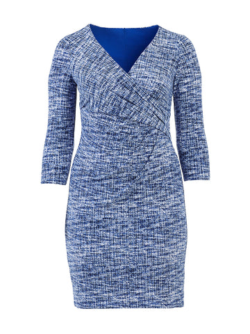 Cleora Blue Dress