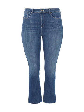 Marilyn Ankle Hobie Wash Raw Hem Jeans