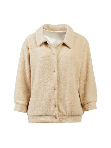 Collared Sherpa Jacket