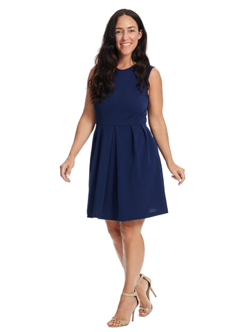 Hayes Fit And Flare Dress