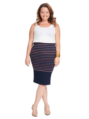 e9582ba2a60 RACHEL Rachel Roy. Striped Pencil Skirt