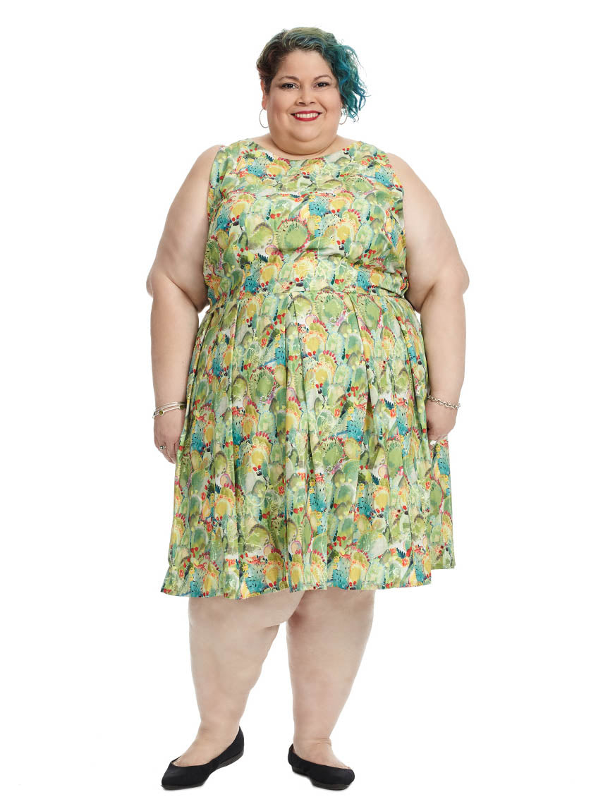 c48750f1a15a Winnie Dress In Cactus Print
