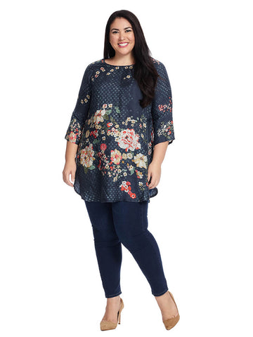 Ficher Blouse in Floral Print