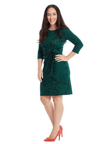 Madison Dress In Foliage Print