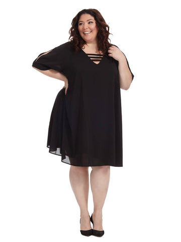Swing Dress In Black