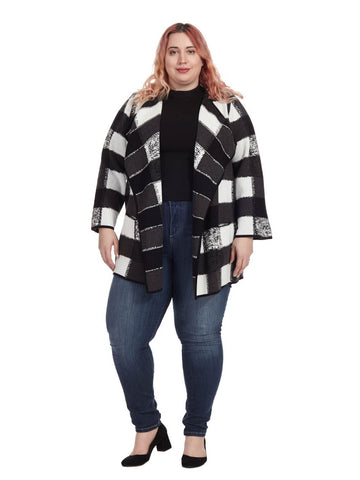 Double Knit Patchwork Jacket