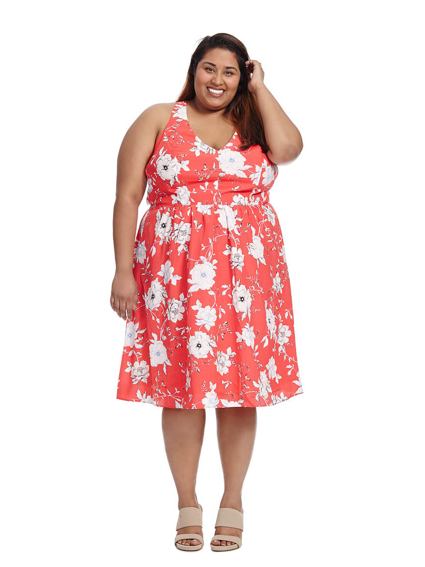 c477024eef Floral Dress City Chic - Gomes Weine AG