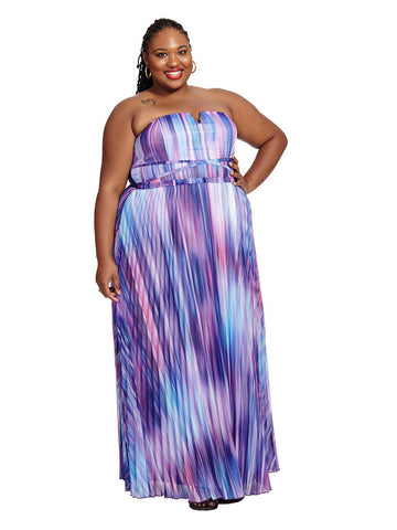 Midnight Ombre Maxi Dress