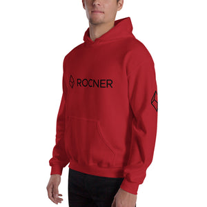 ROCNER Canyoneering Gear Hooded Sweatshirt - Black Logo