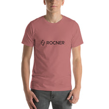 Load image into Gallery viewer, Short-Sleeve Unisex ROCNER Canyoneering Gear T-Shirt - Black Logo