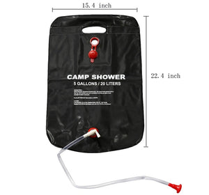 20/40L Solar Heated - Portable Shower Bag