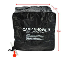 Load image into Gallery viewer, 20/40L Solar Heated - Portable Shower Bag