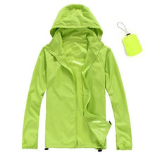 Load image into Gallery viewer, Quick Dry Ultra Light Thin Skin Waterproof Anti-UV Outdoor Jacket
