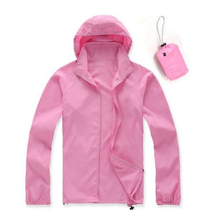 Quick Dry Ultra Light Thin Skin Waterproof Anti-UV Outdoor Jacket