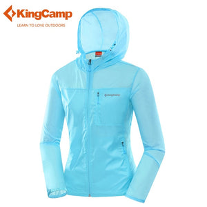 KingCamp Women's Outdoor Lightweight Raincoat With Hood