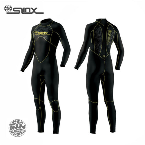 SLINX DISCOVER 1106 5mm Neoprene Men Fleece Lining Wetsuit For Canyoneering