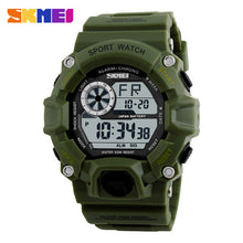Load image into Gallery viewer, SKMEI Military Sports Watches Men Alarm 50M Waterproof Watch LED Back Light Shock Digital Wristwatches Relogio Masculino 1019