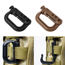 Load image into Gallery viewer, Plastic (Gear Use Only) D Shape Hook Buckle - Snap Clip