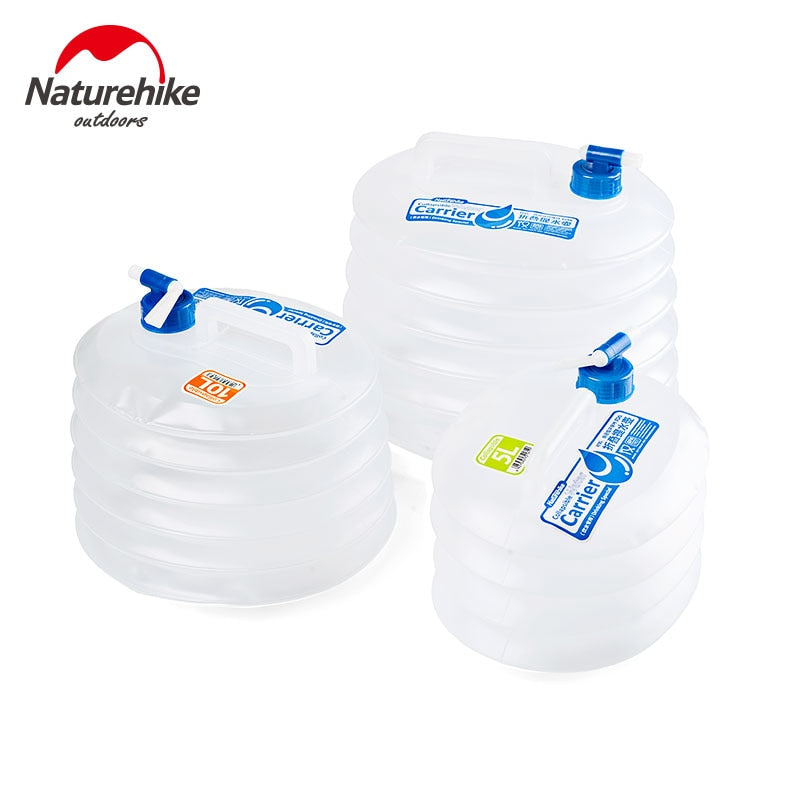 NatureHike Collapsible Water Bucket - 5L 10L 15L