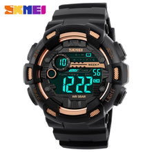 Load image into Gallery viewer, SKMEI  Mens Digital Watch - Waterproof Military Electronic Wristwatch
