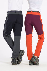 Women Canyoneering Fleece Soft Shell Pants - Windproof