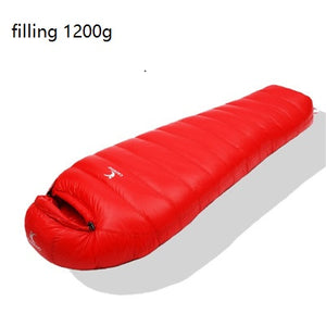 Ultralight Dock Down Sleeping Bag For Canyoning