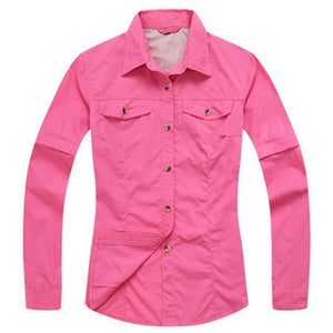 Quick Dry Outdoor Canyoneering Men's / Women's Sport Shirts